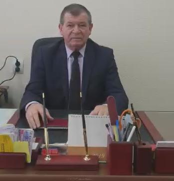 Видеообращение директора школы