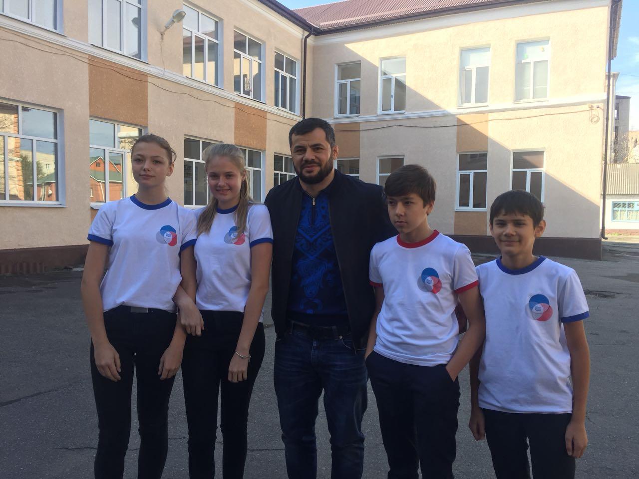Встреча с Зафаром Махмадовым (российским дзюдоистом)